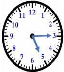 LND Math Test Clock