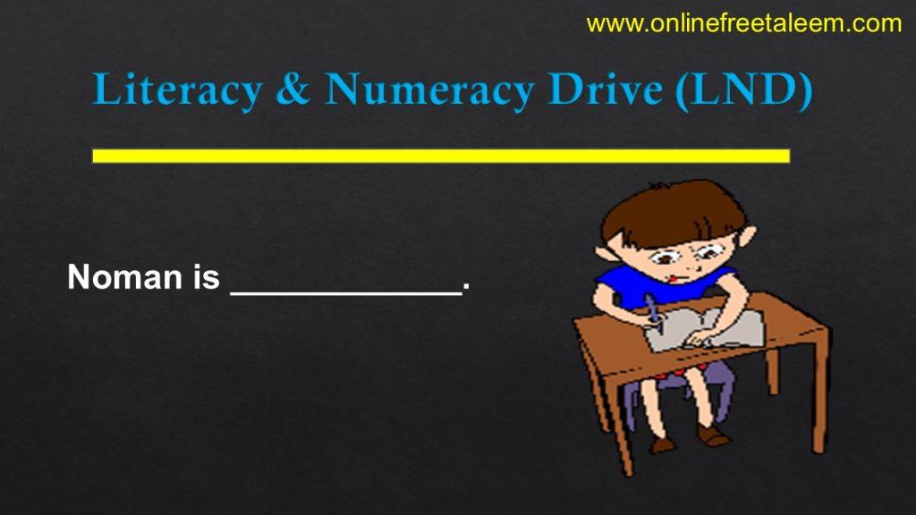 LND English Test 10
